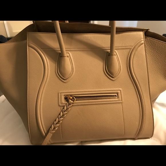 ec018d20a4d7f Celine Handbags - MEDIUM LUGGAGE PHANTOM BAG INBABY GRAINED CALFSKIN